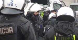 45 osób trafiło na policję. Bo stali zbyt blisko marszu