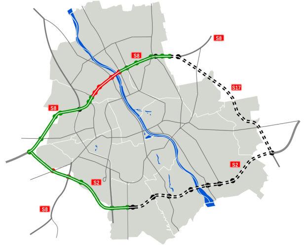 Obwodnica Warszawy ma zostać dokończona do 2020 Wikipedia /cc by