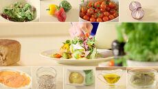 Pyszny i zdrowy pomysł na posiłek w pracy: sałatka z wędzonym łososiem