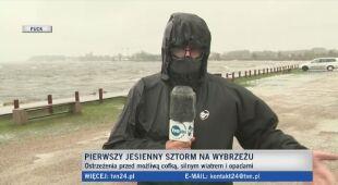 Relacje reporterów TVN24 znad morza